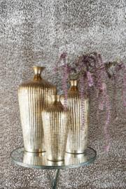 Norell vaas aluminium goud M