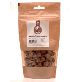 Woof Snacks  Medium Trainer Kip 200 g