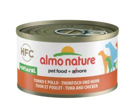 Almo Nature HFC tonijn en kip 95g