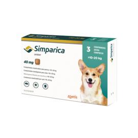 Simparica hond 10-20 kg, 3 tabletten