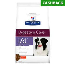Hill's i/d low fat hond 12 kg
