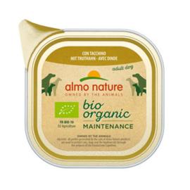 Almo Nature  Hond Bio Organic Kalkoen 100 g