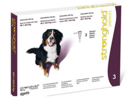 Stronghold hond 40,0 - 60,0 kilo, 3 pipetten