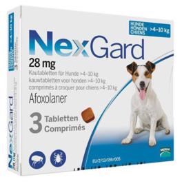 Nexgard hond 4-10 kg