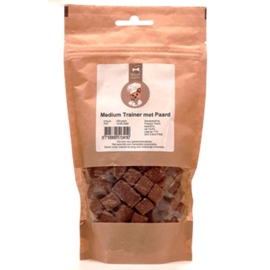 Woof Snacks  Medium Trainer Paard 200 g
