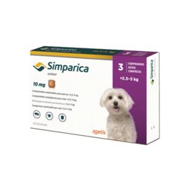 Simparica hond 2,5-5kg, 3 tabletten