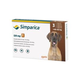 Simparica hond 40-60kg, 3 tabletten