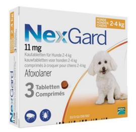 Nexgard hond 2-4 kg