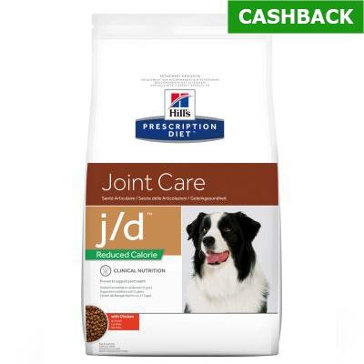 Hill's j/d reduced hond 12 kg