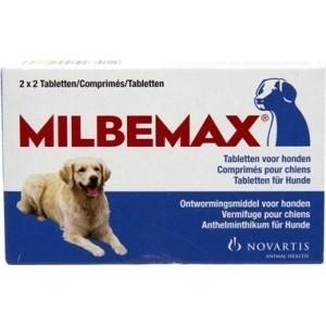 Milbemax grote hond 2x2