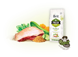 Brit Fresh Duck with millet 2,5kg