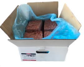 Gowill+  Vleesmix 10kg (8x1250g) kip, rund, paard, lam, kalkoen