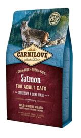 Carnilove Into The Wild Kat Zalm 6 kg