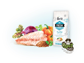 Brit Fresh Fish with pumpkin 2,5kg