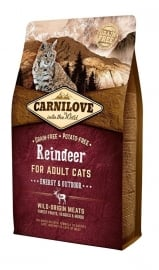 Carnilove Into The Wild Kat Rendier 2 kg