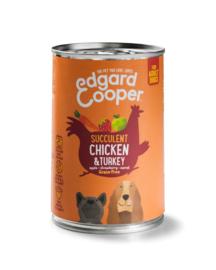 Edgar & Cooper kip & kalkoen 400gr