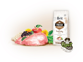 Brit Fresh Turkey with pea 2,5kg