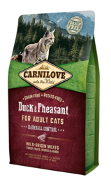 Carnilove Into The Wild Kat Eend en Fazant 6kg