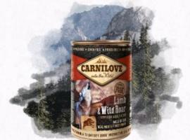 Carnilove lam en wild zwijn 400gr