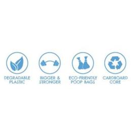 Becobags composteerbaar 8 rolletjes
