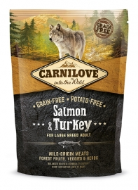 Carnilove Zalm en Kalkoen large breed adult 1,5 kg