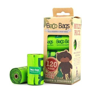 Becobags 8 rolletjes x 15 (120 zakjes)