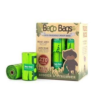 Becobags 18 rolletjes x 15 (270 zakjes)