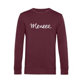 Bordeaux MENEER. Lightweight Sweater Krijt