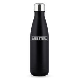 PRE-ORDER: Zwart Soft MEESTER. Thermosfles Klas