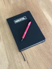 Rood MEESTER. Pen Klas