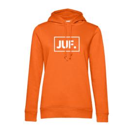 Oranje JUF. Hoodie Klas