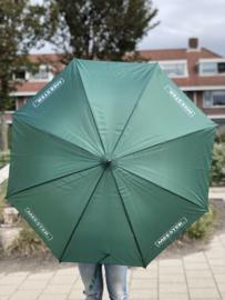 Donkergroen MEESTER. Paraplu Klas