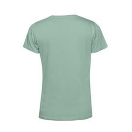Pastel mint MEVROUW. Shirt Ronde hals