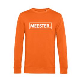 Oranje MEESTER. Lightweight Sweater Klas