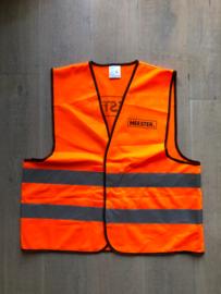 Fluor Oranje MEESTER. Veiligheidsvestje Klas