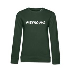 Flessengroen MEVROUW. Ladyfit Sweater