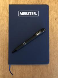 Zwart MEESTER. Pen Klas