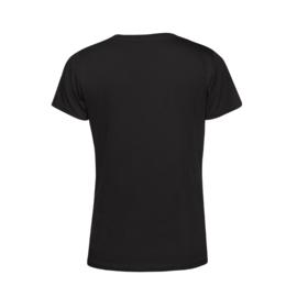 Zwart MEVROUW. Shirt Ronde hals
