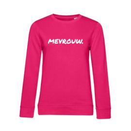 Fuchsia MEVROUW. Ladyfit Sweater Krijt