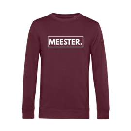 Bordeaux MEESTER. Lightweight Sweater Klas