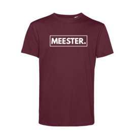 Bordeaux MEESTER. Shirt Klas
