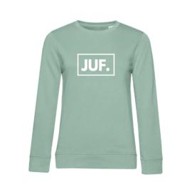 Pastel mint JUF. Ladyfit Sweater Klas