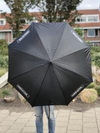 Zwart MEESTER. Paraplu Klas