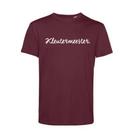 Bordeaux KLEUTERMEESTER. Shirt Krijt