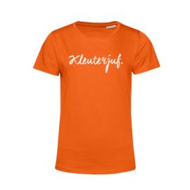 Oranje KLEUTERJUF. Shirt Ronde hals Krijt