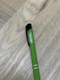 Lichtgroen MEESTER. Pen Klas