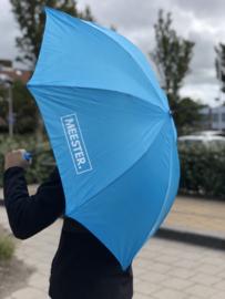 Lichtblauw MEESTER. Paraplu Klas