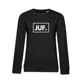 Zwart JUF. Ladyfit Sweater Klas