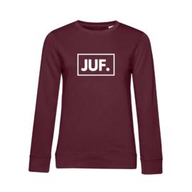 Bordeaux JUF. Ladyfit Sweater Klas