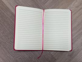 Roze JUF. Notitieboekje Krijt